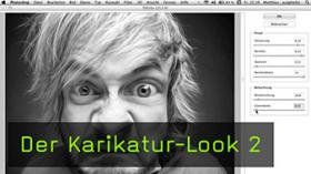 Karikatur-Look in Photoshop