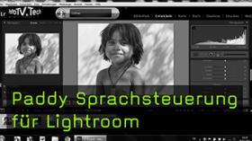 Paddy Sprachsteuerung für Lightroom