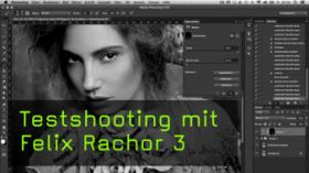 Testshooting Felix Rachor Photoshop Aktion, Professionelle Archivierung