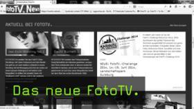 FotoTV - neue Webpräsenz