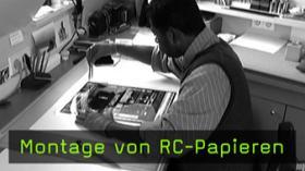 Rahmung von RC-Papieren