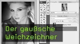 gaußsche Weichzeichner, Photoshop