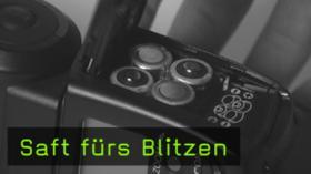 Fotograf und Hersteller über Batterien