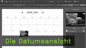 Die Datumsansicht