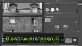 Photoshop Elements, Diashow erstellen