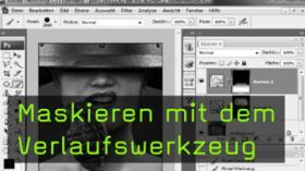 Photoshop, Tutorial, Verlaufswerkzeug, Ebenenmaske, Martin Krolop