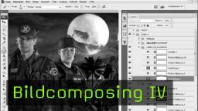 Photoshop PSD Composing Tutorial Bildbearbeitung
