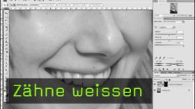 Calvin Hollywood Photoshop Zähne aufhellen