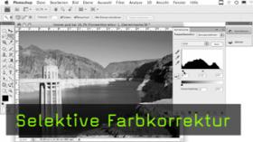 selektive Farbkorrektur in Photoshop