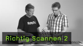 Richtig Scannen Scan-Workflow