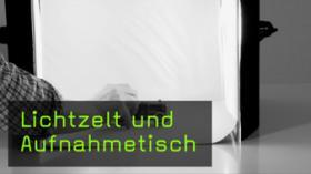 fotografieren Lichtzelt Aufnahmetisch Objektfotografie