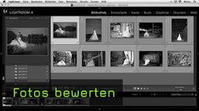 Bilder in Lightroom bewerten