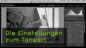 Tonwerte in Lightroom ändern