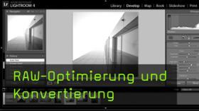 Optimierung und Konvertierung von RAW-Dateien