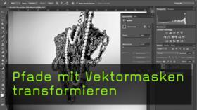 Pfade in Photoshop transformieren