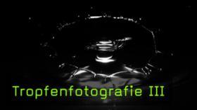 Tropfenfotografie Tropfen auf Tropfen Lichtschranke