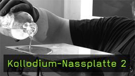 Kollodium-Nassplatte 2