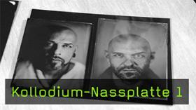 Kollodium-Nassplatte 1