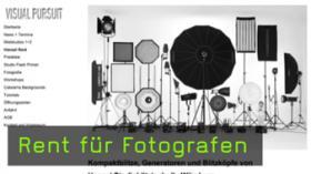 Rent für Fotografen - Lohnt es sich Fotoequipment zu leihen