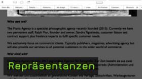 Repräsentanzen und Agenturen für Fotografen