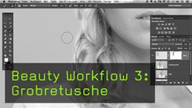 Beauty Workflow 3: Grobretusche