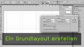 Grundlayout in InDesign erstellen