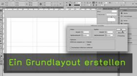 Grundlayout in InDesign erstellen
