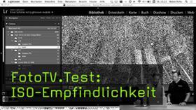 FotoTV.Test: ISO-Empfindlichkeit