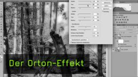 Bildlook Orten-Effekt in photoshop