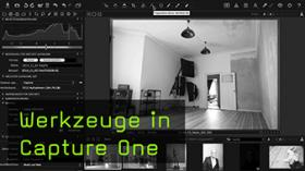 Werkzeuge in Capture One