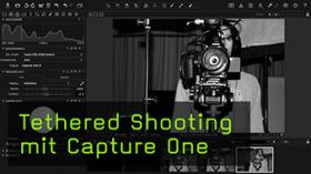 Tethered Shooting mit Capture One