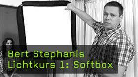 Bert Stephanis Lichtkurs 1: Softbox