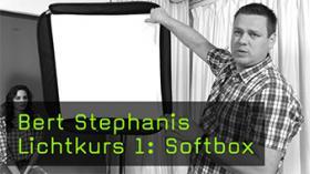 Bert Stephanis Lichtkurs 1: Softbox