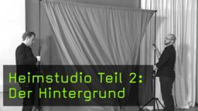 Hintergrund im Heimstudio Hohlkehle Papier und Stoffe