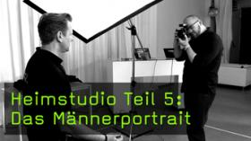 Männerportraits im Heimstudio fotografieren