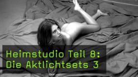Aktfotografie im Heimstudio Lichtsetzung Softbox