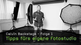 Calvin Backstage, Fotostudio planen