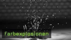 Farbexplosionen, kreatives Fotografieren, FotoTV. Tutorial mit Michael Krone von der fotocommunity