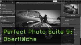 Perfect Photo Suite 9: Oberfläche