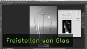 Freistellung von Glas in Photoshop