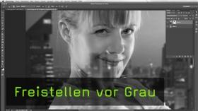 Graufreistellung in Photoshop