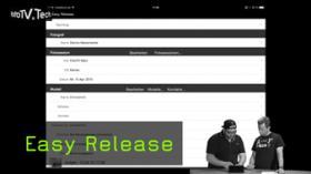 Easy Release Modelvertrag und TFP Ipad und digital