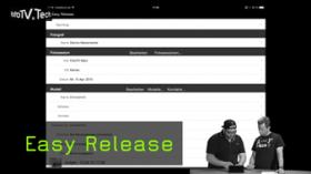 Easy Release Modelvertrag und TFP Ipad und digital