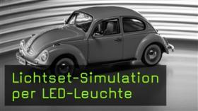 Modellautofotografie, Modellautos belichten, FotoTV. Tutorial mit Eberhard Schuy