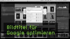 Bildtitel für Google optimieren
