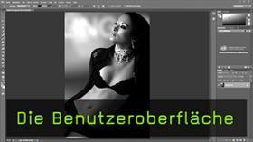 Die Benutzeroberfläche in Photoshop