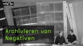 FotoTV. Sendung über Negativarchivierung