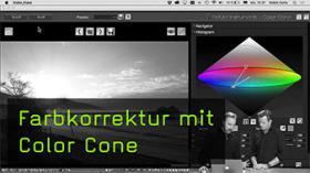 Farbkorrektur mit Color Cone