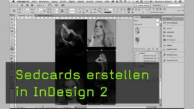 Sedcards erstellen in InDesign