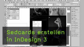 Sedcards erstellen in InDesign